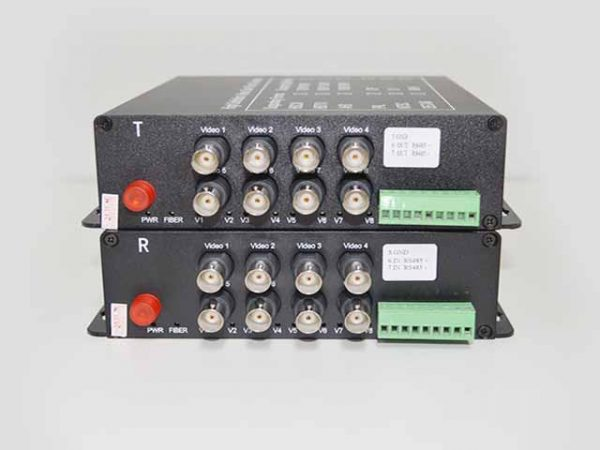 Fiber to HD-AHD รุ่น AHD-8V1D-T/RF 720P